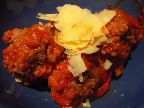 Crusty Meatball Pasta-Low Fat, Hi Energy