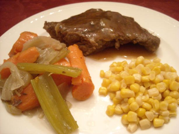 Grandma Etta's Chuck Steak Fry-Roast