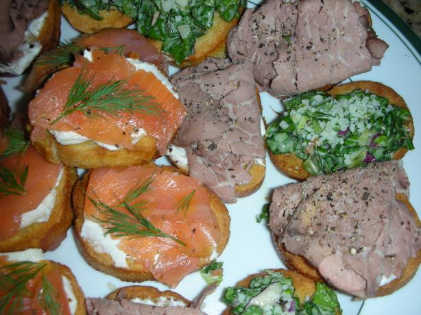 Basic Crostini With Variations