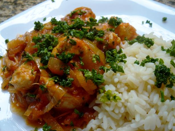 Chakhokhbili (Georgian Chicken With Herbs)