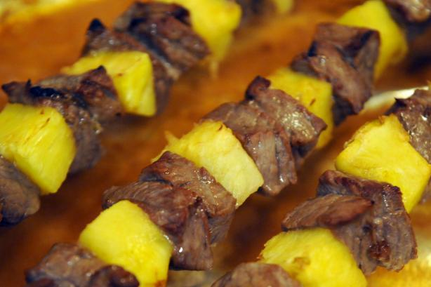 Beef and Pineapple Kebabs (Anguilla)