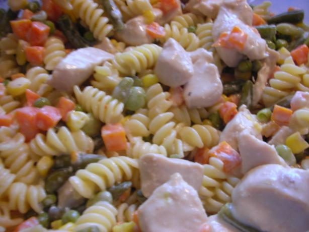 Chicken and Rotini Primavera