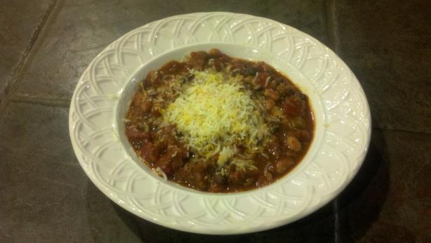Rustic Bison Chili