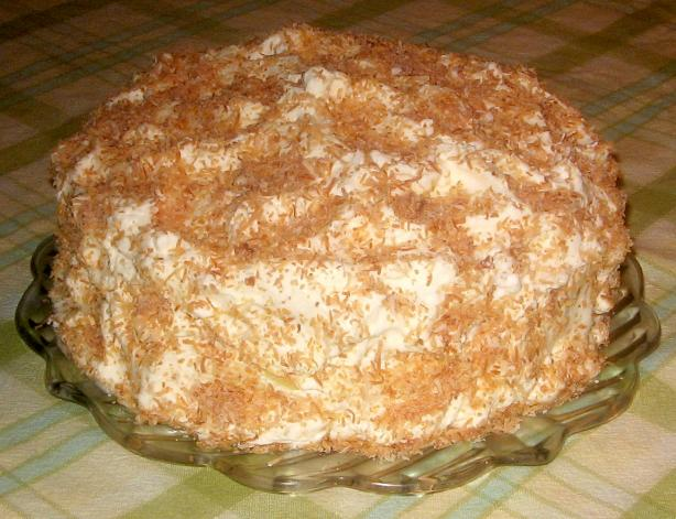 Fresh Coconut Cake from Heaven