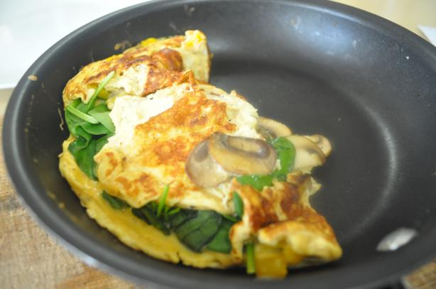 German Spinach Omelet