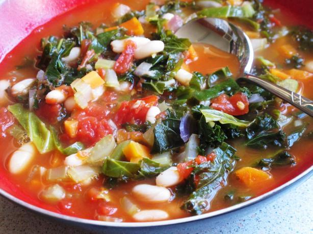 Rustic Tuscan Bean Soup