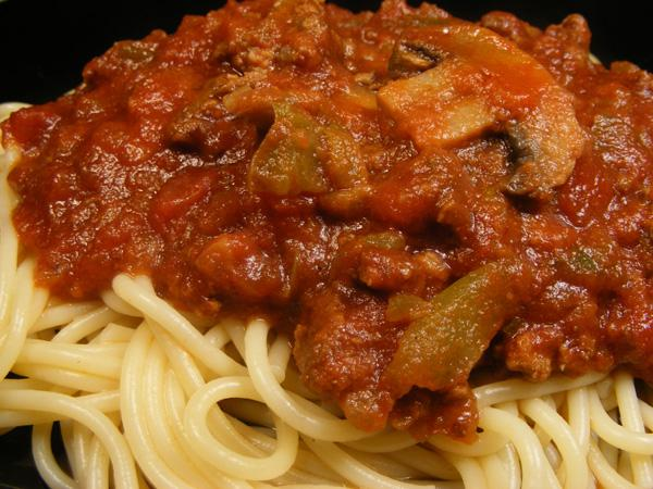 Southern Barbecue Spaghetti