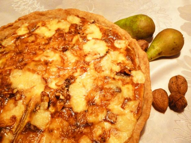 Nuts and Pears Cheesecake