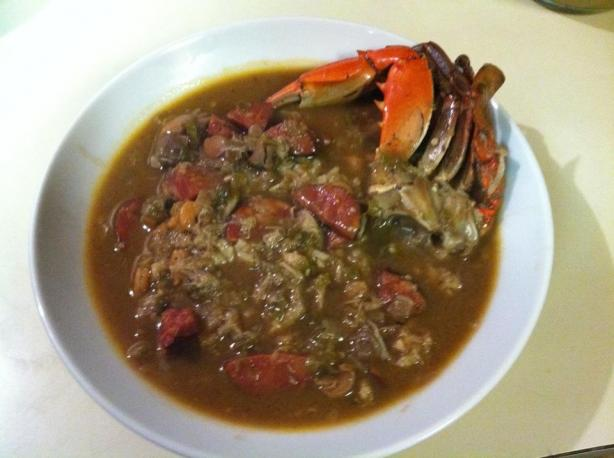 Seafood & Andouille Gumbo