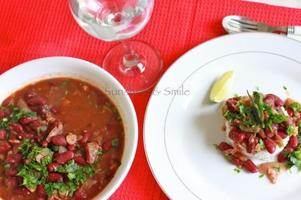 Rajma (Vegetarian Chili)