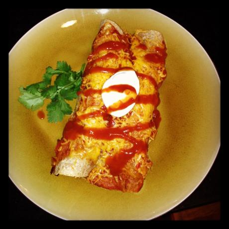Spicy Ground Turkey Enchiladas