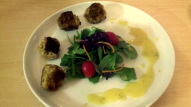 Turkey Curry Meatballs