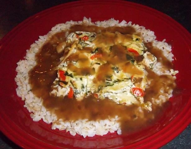 Chicken Bok Choy Quiche