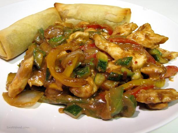 Peanut Chicken Stir Fry