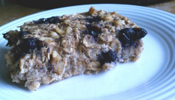 Bananaberry Baked Oatmeal