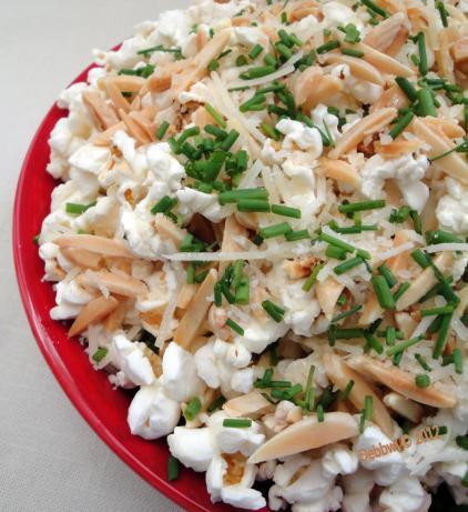 Nut and Parmesan Popcorn