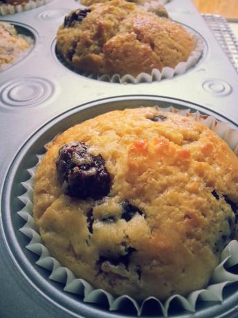 Lemon Blackberry Muffins