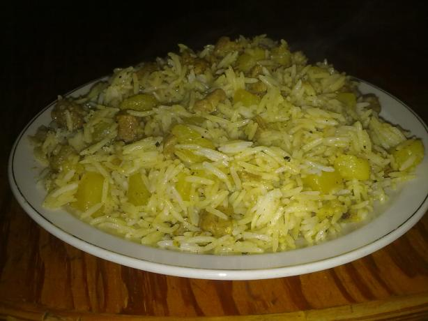 Kohlrabi Rice
