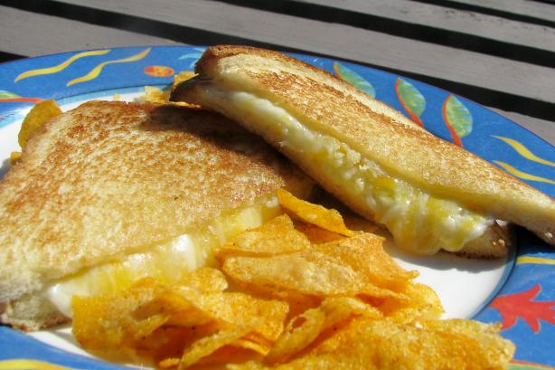 Andrea Spadoni's Deluxe Grilled Cheese