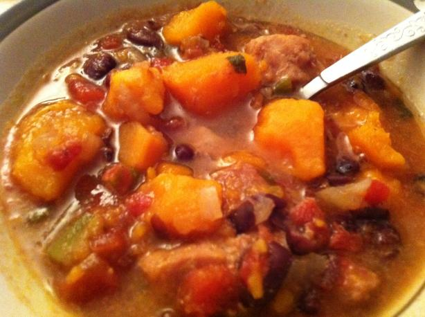 Cuban Pork and Sweet Potato Stew