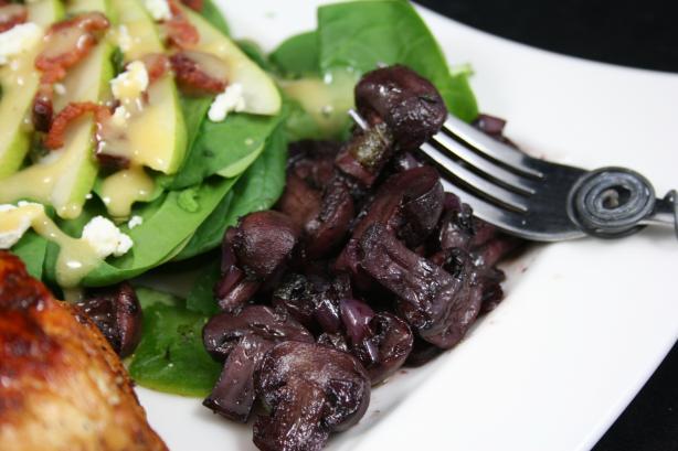 Good Housekeeping's Braised Mushrooms