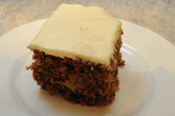 Bahama Mama Carrot Cake (The Bahamas)