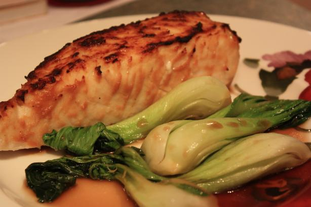 Miso Glazed Halibut