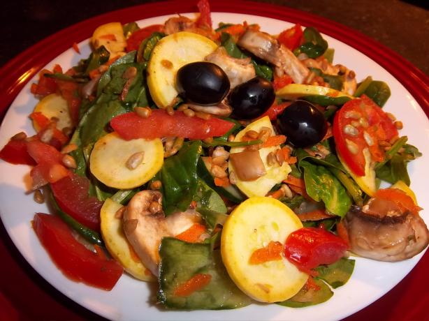 Spinach Salad Simplified