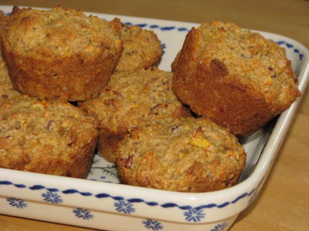 Pat's Orange Pecan Muffins