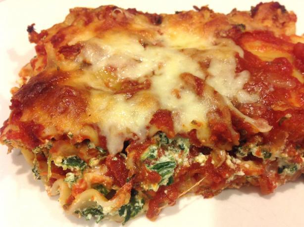 Popeye's Lasagna