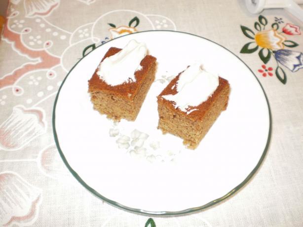 Iced Banana Slab Cake