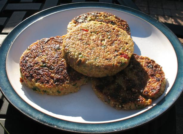 Vegetable (Quinoa) Burgers