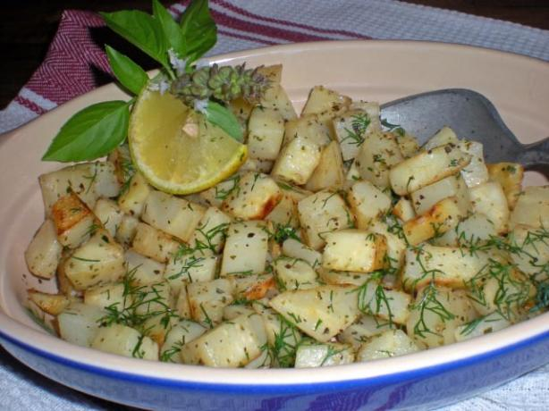 Celeriac With Butter and Lemon - Céleri - Rave Saute