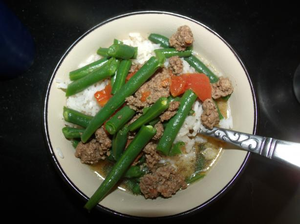 Ground Beef Soup Casserole
