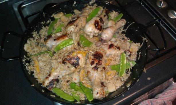 Black Tea & Chicken Paella