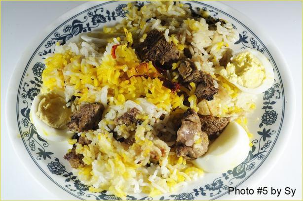 Lamb Biryani With Saffron Rice
