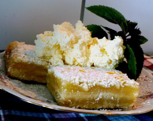 Katie Couric's Lemon Bars