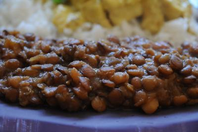 Brown Lentil Seraz (British Indian Ocean Territory)