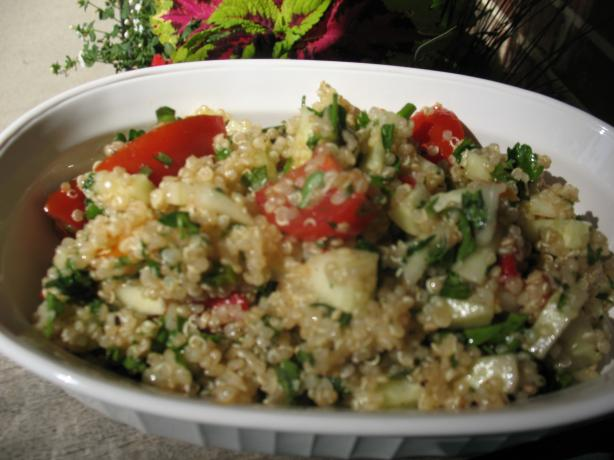 Quinoa Tabbouleh by Aarti Sequeira