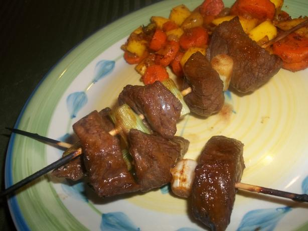 Fiery Beef Satay Skewers