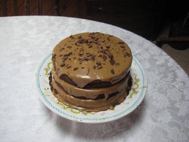Heidi's Mocha Cream Torte