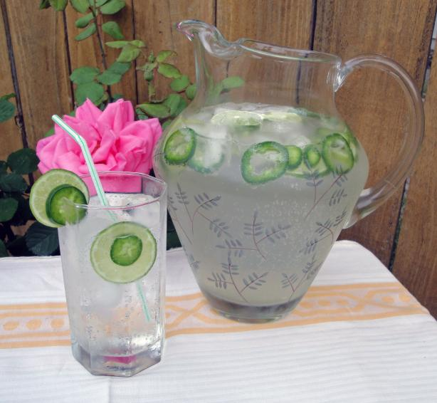 Jalapeno-Lime Spritzer