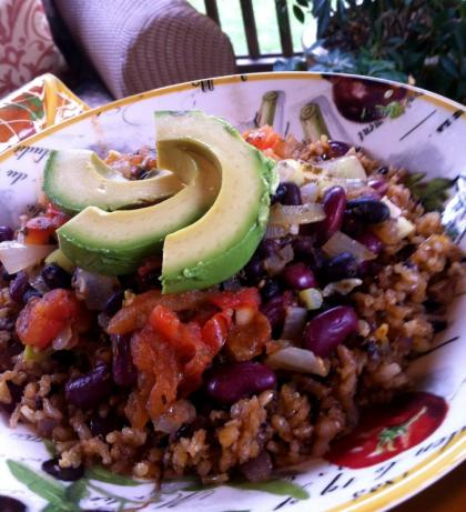 Southwest Rice and Beans from Roberto Martin