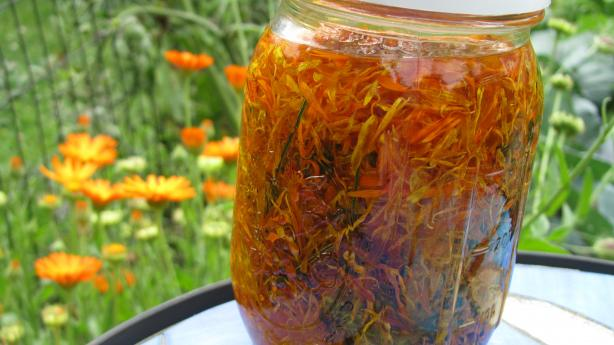 Calendula Oil Scented With Lavender