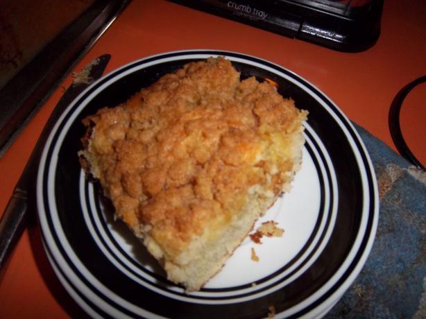 Crushed Pineapple Coffee Cake