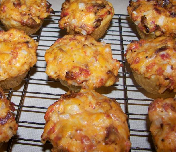Spicy Tomato Cups