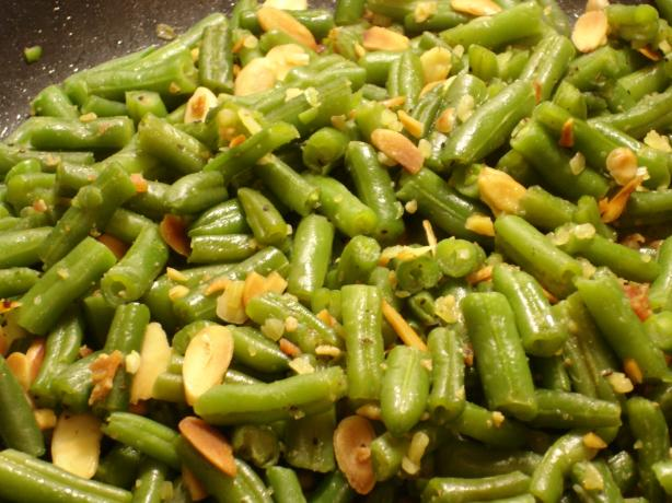 Beth's Easy Pleasy Green Beans