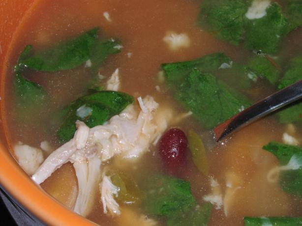 Super Easy and Delicious Fiesta Chicken Soup