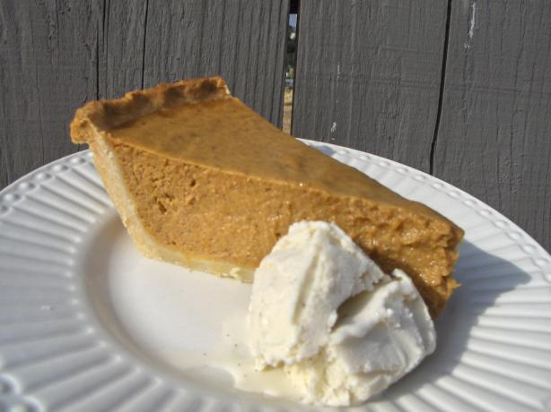 The Best Pumpkin Pie! Ever
