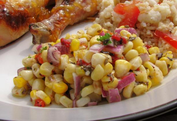 Valencia Corn Salad